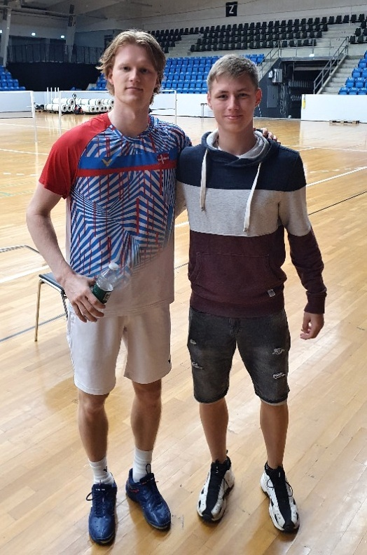 Anders Antonsen a Tomáš Vrbka.